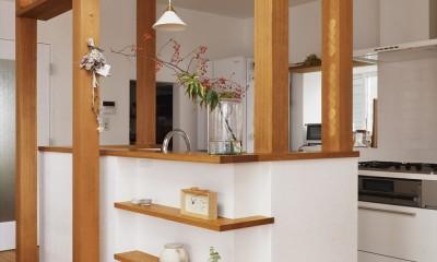 キッチン|S邸「ほっこり」陽だまりの家。