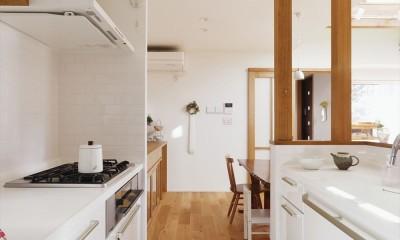 S邸「ほっこり」陽だまりの家。 (キッチン)