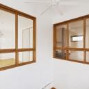 S邸「ほっこり」陽だまりの家。の写真 室内窓