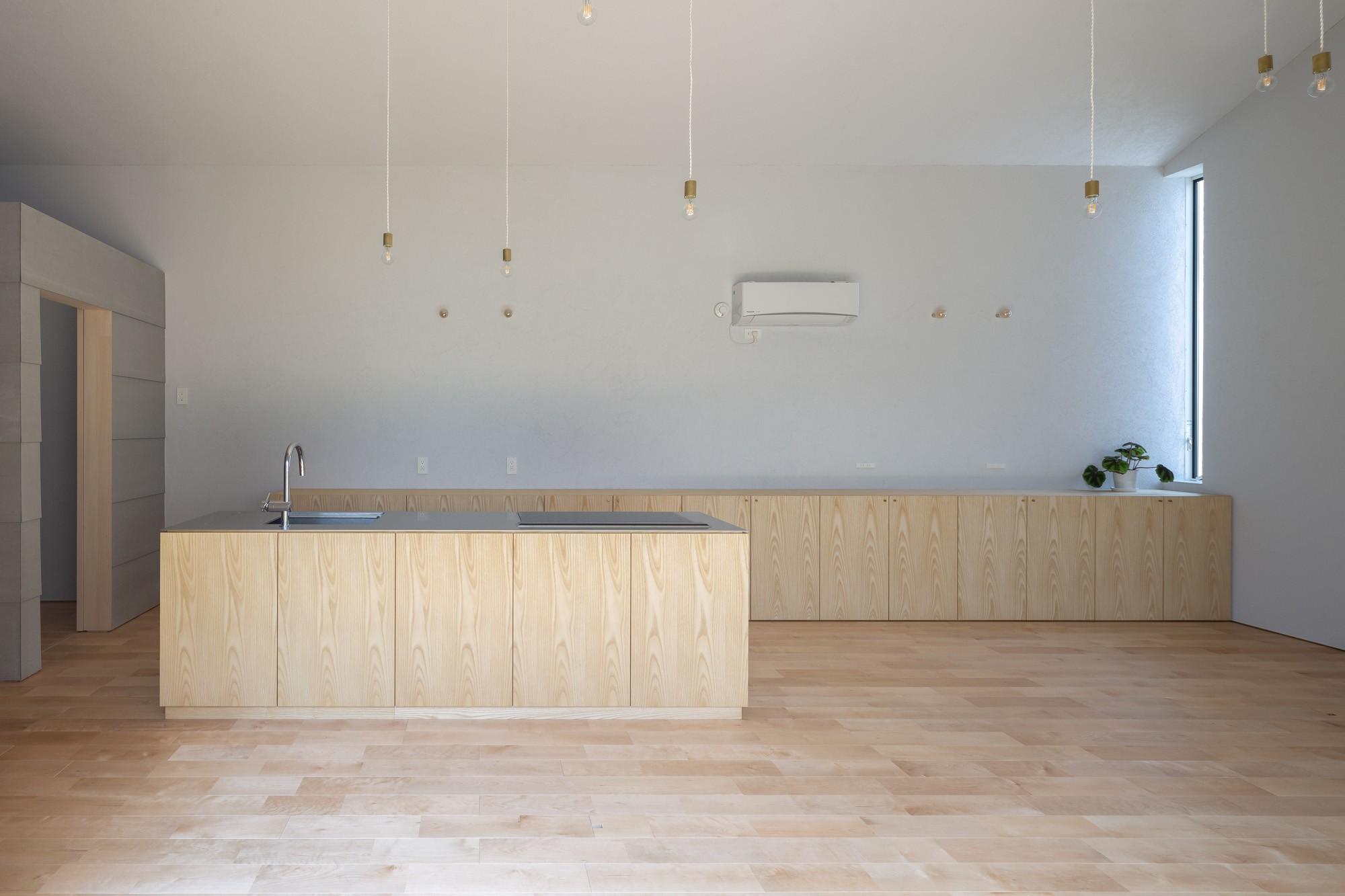 キッチン事例:LDK(垂井町のコートハウス)