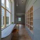 垂井町のコートハウスの写真 書斎 ワークスペース