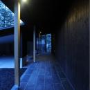軽井沢の家の写真 土縁スペース(玄関ポーチ)