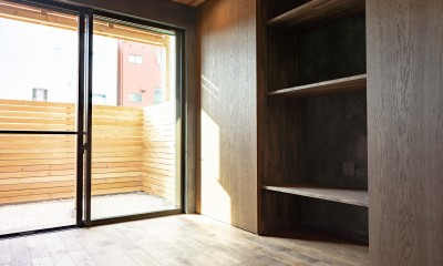 京都市重量鉄骨の家〜狭小住宅リノベーション〜 (room1)