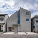 西改田の二世帯住宅の写真 外観