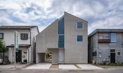 西改田の二世帯住宅