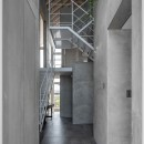 西改田の二世帯住宅の写真 玄関 動線室