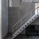 西改田の二世帯住宅の写真 動線室