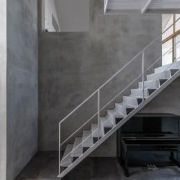 西改田の二世帯住宅 (動線室)