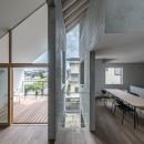 西改田の二世帯住宅の写真 LDK 動線室 バルコニー