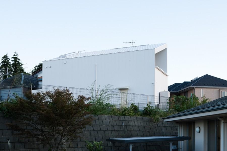 あざみ野の住宅 (外観)