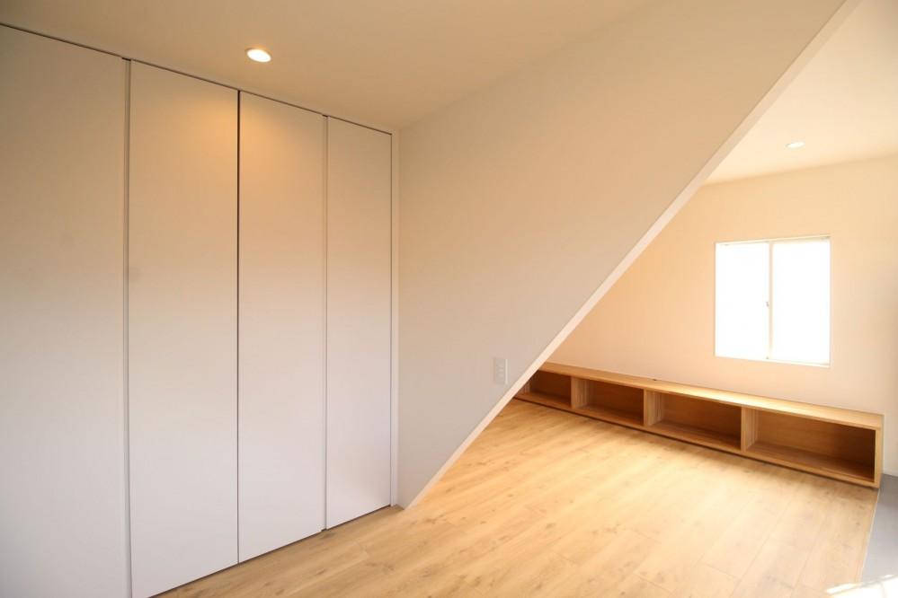 伊勢崎のリノベーション (寝室)