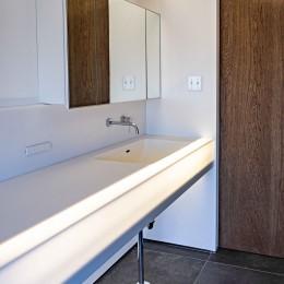 京都市重量鉄骨の家〜狭小住宅リノベーション〜 (sanitary)