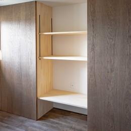 京都市重量鉄骨の家〜狭小住宅リノベーション〜 (room2)