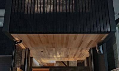facade|京都市重量鉄骨の家〜狭小住宅リノベーション〜