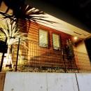 風知蒼の住宅事例「南向きの狭小スペースにリゾート感漂う前庭植栽」
