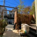 風知蒼の住宅事例「建て売り×カフェ庭リフォーム」