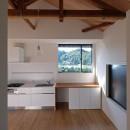 朝倉の家【リノベーション】の写真 美しい山々を望む窓