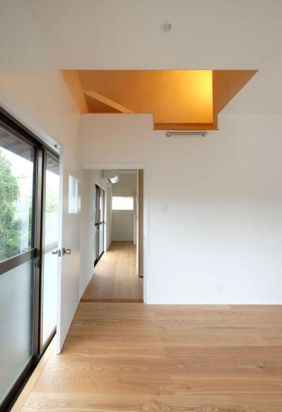ロフトのある子供部屋 (朝倉の家【リノベーション】)