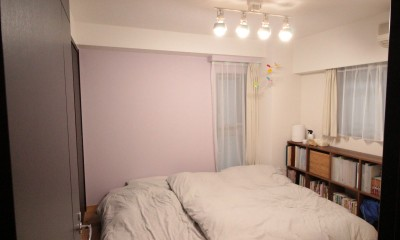寝室|憧れを形に!夢が叶った無垢揃いなお家