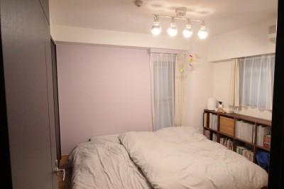 寝室 (憧れを形に!夢が叶った無垢揃いなお家)