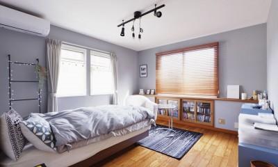 寝室|面影を残し、お気に入りを詰め込んで…。