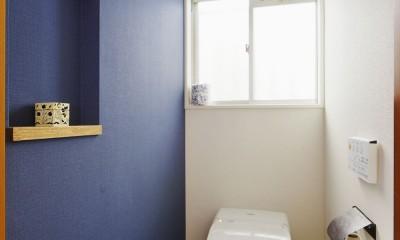 面影を残し、お気に入りを詰め込んで…。 (トイレ)