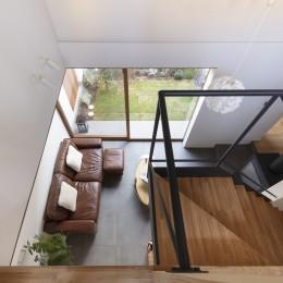 太子堂J邸 -路地裏に建つ雨宿りの家-