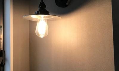 中古物件リノベーション (照明)