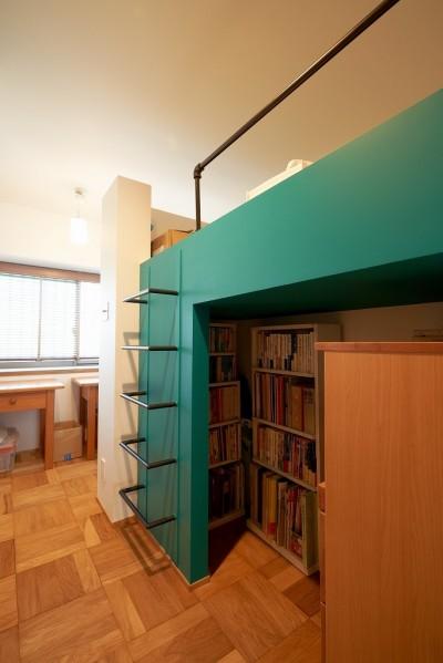子ども部屋 (選びつくることをとことん楽しんだマンションリノベーション)