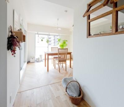 兵庫県K邸 − すてきな素材とともに夫婦の時間を楽しむ家 − (リビング・ダイニング)