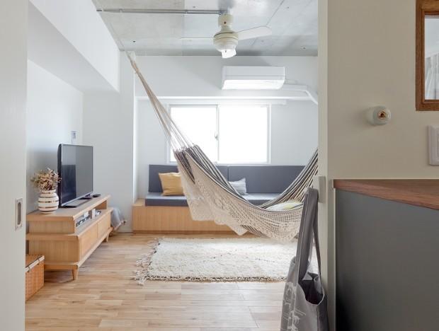 兵庫県K邸 − すてきな素材とともに夫婦の時間を楽しむ家 − (リビング)