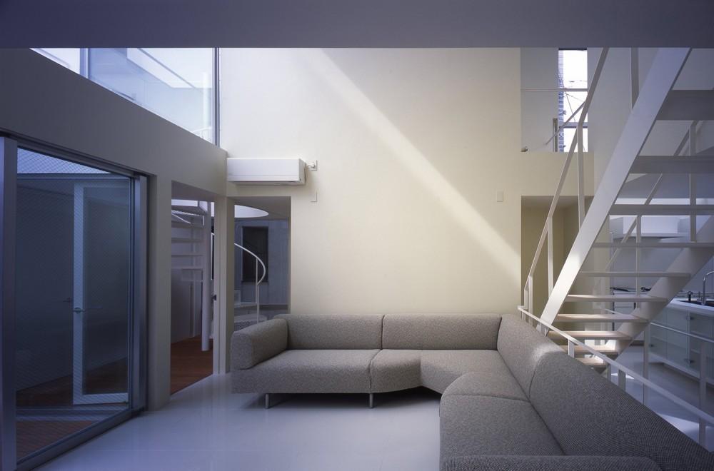 門前仲町の住宅 (2階リビング,ダイニング,キッチン)