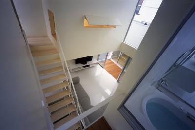 3階水回りスペース (門前仲町の住宅)