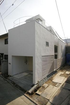 梅丘の家の部屋 外観