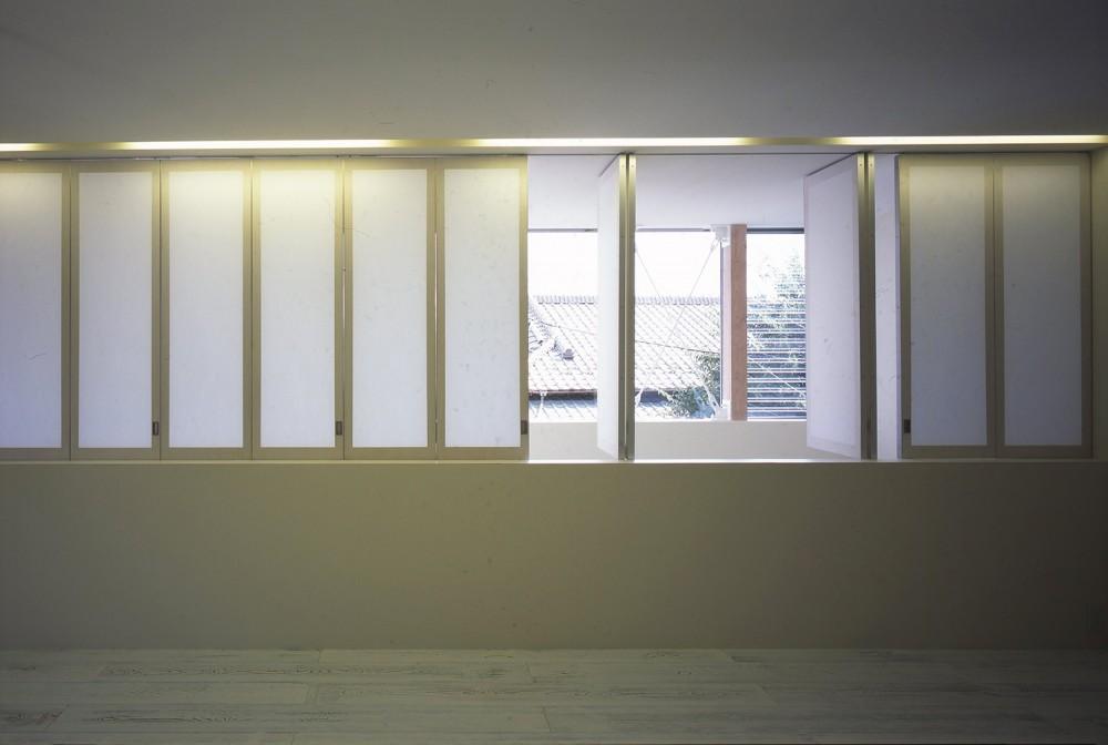 東浦和の住宅 (2階LDKスペース)