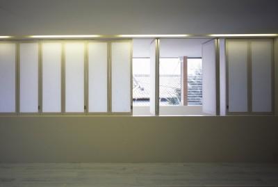 2階LDKスペース (東浦和の住宅)