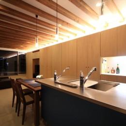 清流の家~眺望のよい2世帯住宅~ (大容量の壁面収納)