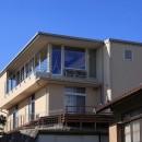 清流の家~眺望のよい2世帯住宅~の写真 丘に建つ家