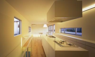 府中の住宅 (2階LDKスペース)