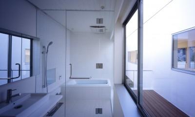 府中の住宅 (2階水回り)