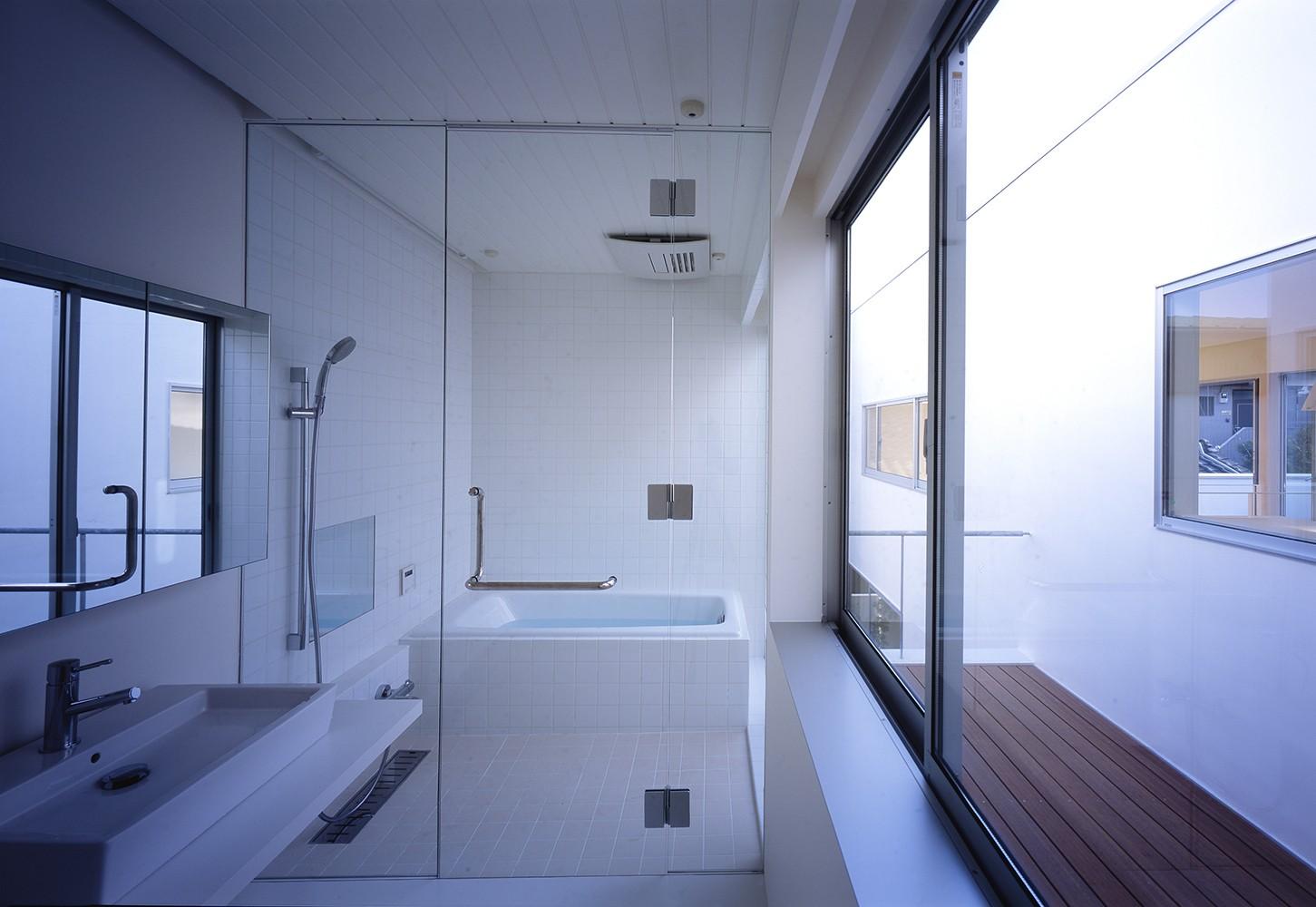 バス/トイレ事例:2階水回り(府中の住宅)