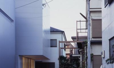 向河原の住宅 (外観)