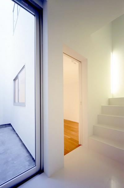 1階寝室 (向河原の住宅)