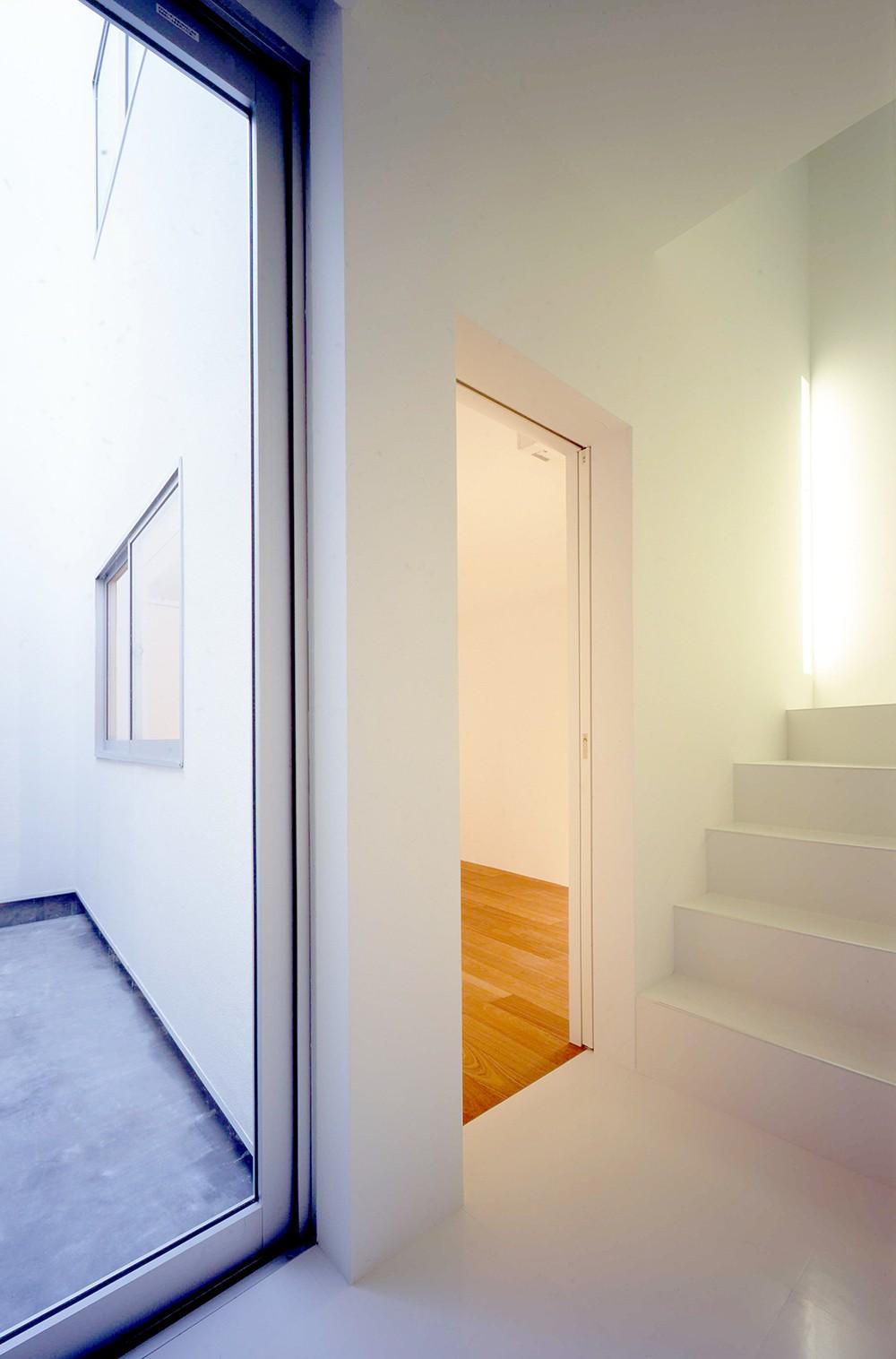 向河原の住宅 (1階寝室)