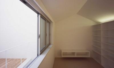向河原の住宅 (2階リビング)