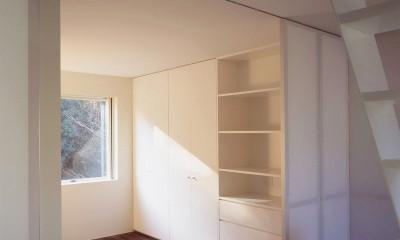 祖師谷の住宅 (2階寝室)