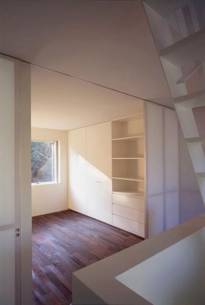 2階寝室 (祖師谷の住宅)
