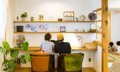 récolte - 実家リノベで雑貨とグリーンと思い出に囲まれて暮らす (リビング)
