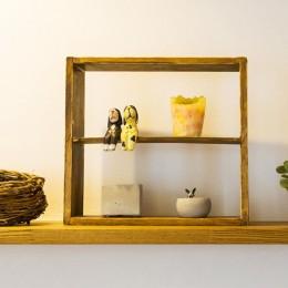 récolte - 実家リノベで雑貨とグリーンと思い出に囲まれて暮らす (収納棚)