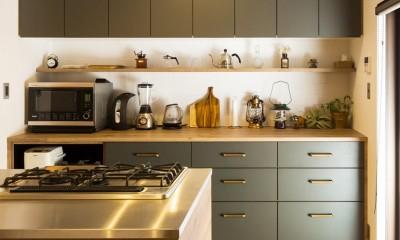 Legrand - アイランドキッチンを中心にぐるり。コンパクトな動線で家事効率UP! (キッチン)